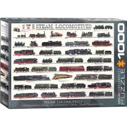 History of Trains. 1000 pcs.
