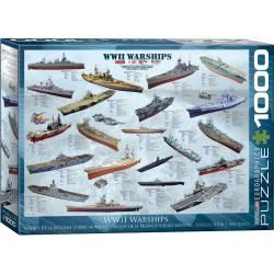 World War II Warships. 1000 pcs.