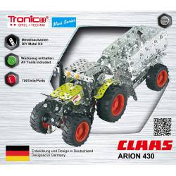 CLASS Arion 430 Tractor.