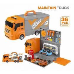 "Maintenance truck ""Workshop Services""."