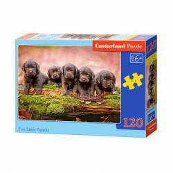 Five little puppies. 120 pcs.