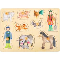 Forest animals puzzle.