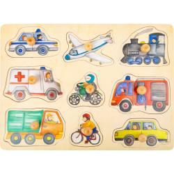 City vehicles puzzle.