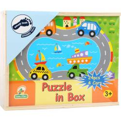 Traffic puzzle box.