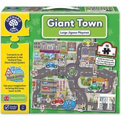 Giant town.