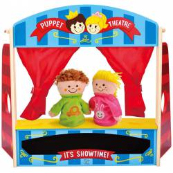Puppet playhouse.