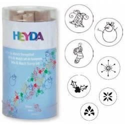Winter stamp set. HEYDA