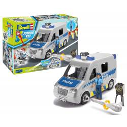 Ambulance with figure.