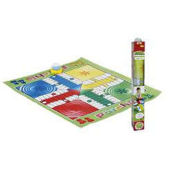 Parchis gigante. CPA