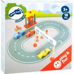 Race car track.