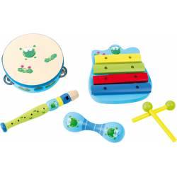 "Music set ""Frog""."