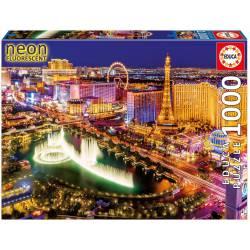 Las Vegas, neon, 1000 pcs.