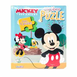 Mickey and his friends: puzzle.