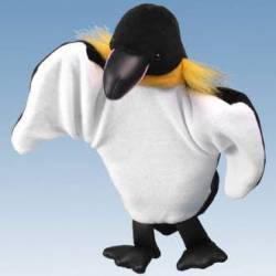 Hand Puppet: penguin.