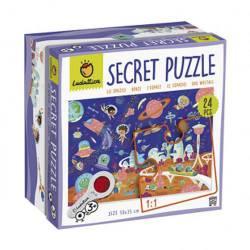 Secret puzzle. The forest.