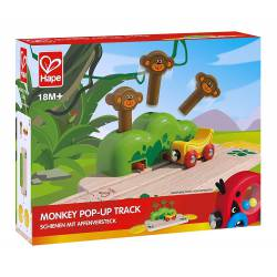 Monkey pop-up track.