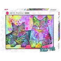2 Cats. 1000 pcs.