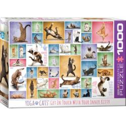 Yoga Cats. 1000 pcs.