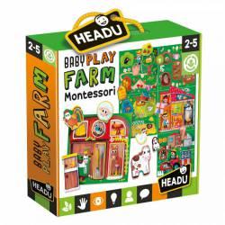 Baby Play Farm. Montessori.