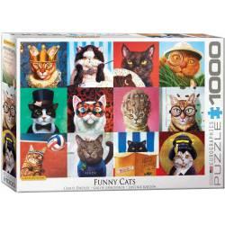 Funny cats. 1000 pcs.