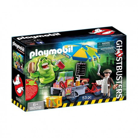 Slimer with Hot Dog Stand. PLAYMOBIL 9222
