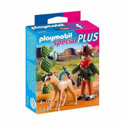 Cowboy with Foal. PLAYMOBIL 5373