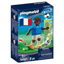 Football player, France B.
