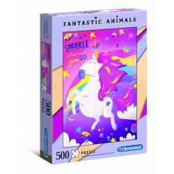 Unicornio. 500 piezas.