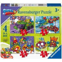 Rainbow horses. Puzzle.