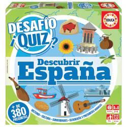 Desafío Quiz. Descubrir España.