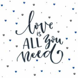 Love is all you need. MINIART CRAFTS