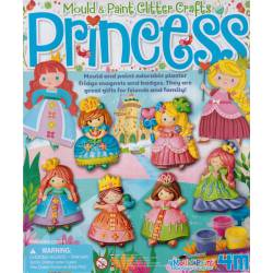 Mould and paint: Princess.