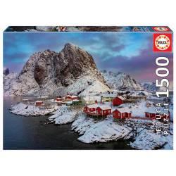 Loften Islands, Norway. 1500 pcs.