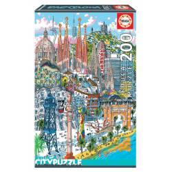Roma. Educa City Puzzle. 200 pcs.