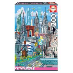 New York. Educa City Puzzle. 200 pcs.