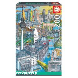 London. Educa City Puzzle. 200 pcs.