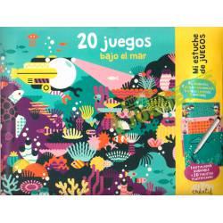 Mi estuche de juegos. 20 juegos bajo el mar