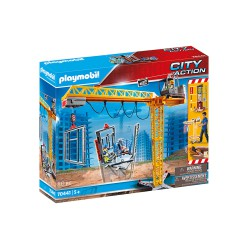 RC Crane with Building Section.