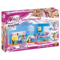 Aisha's fitness club.