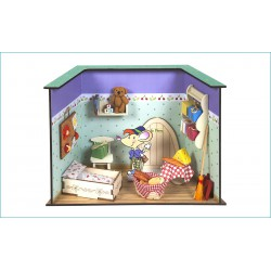 Ratoncito Pérez bedrooms.
