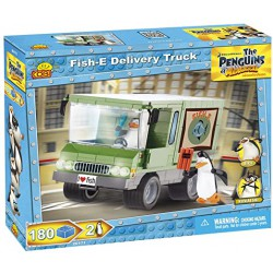 Fish-e delivery truck.The penguins os Madagascar.