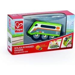 Solar powered engine.