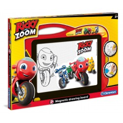 Magnetic drawing board Ricky Zoom.