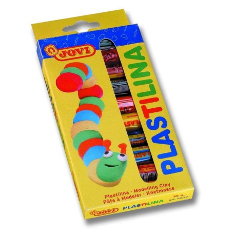 Modelling clay. 10 colors. JOVI