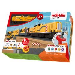 Construction site train starter set.