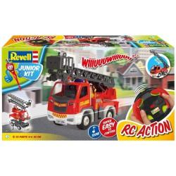Ambulance with figure.