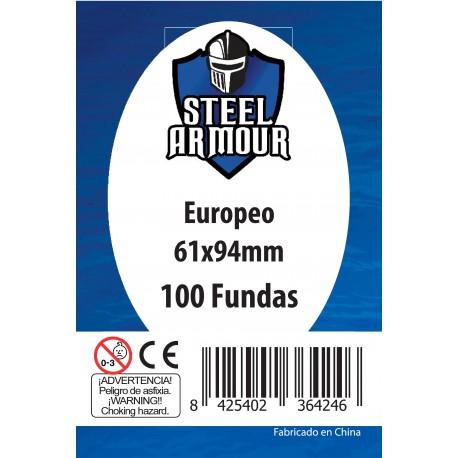 100 Sleeve covers. Europe. 61x94 mm.