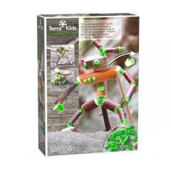 Kit de construcción de figuras.