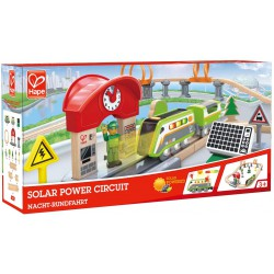 Solar power circuit.