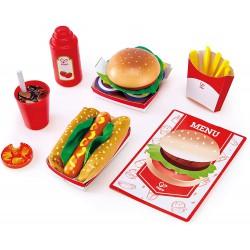 Set de comida rápida.